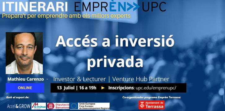 inversió privada_itinerari_Emprèn UPC