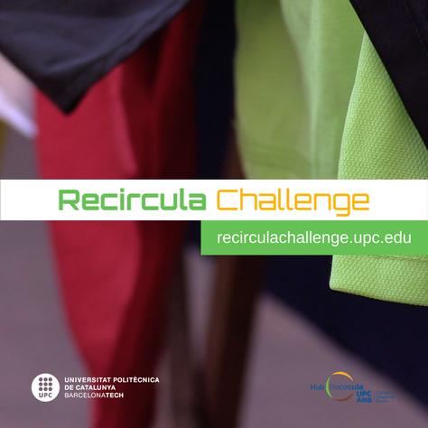 Apunta't al Recircula Challenge 2020!