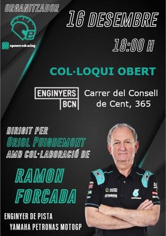 Col·loqui Obert amb la colaboració de Ramon Forcada