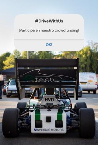 e-Tech Racing organitza un crowfunding per finalitzar el seu monoplaça elèctric
