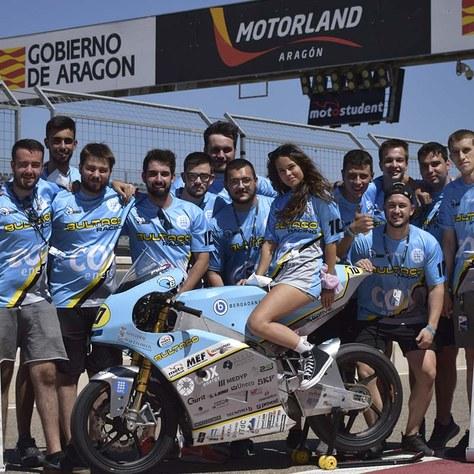 ePowered RACING aconsegueix bons resultats al MotoStudent d'Aragó