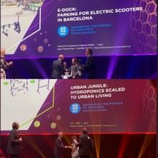 Estudiantat de l'EEBE premiats en la Fira K- Inovyn International Award 2019