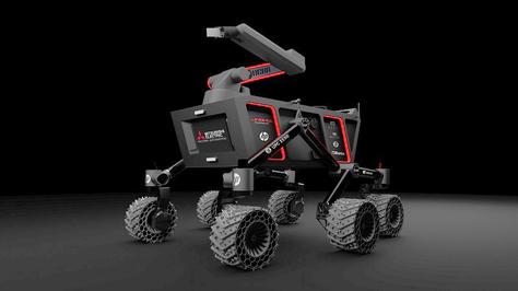 Èxit de PUCRA, en l'European Rover Challenge.