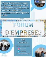 Fòrum Empreses EEBE ONLINE 2020