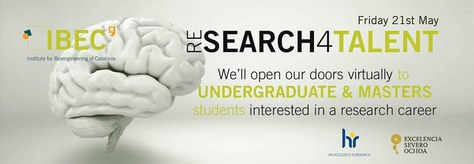 Jornada de Portes Obertes – (Re)search4Talent IBEC