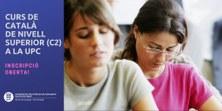 Oberta la inscripció al Curs de català de nivell superior (C2) a la UPC