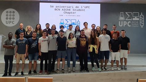 Presentació de l'associació UPC AIChE al nou estudiantat