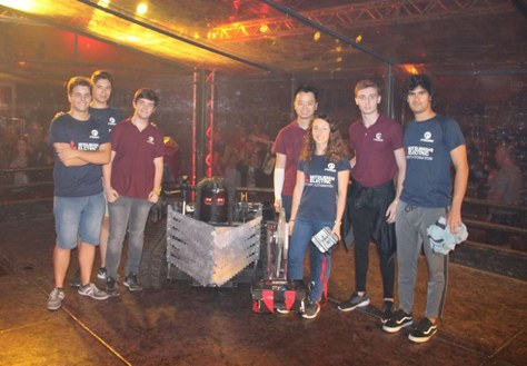 PUCRA finalista a la Robot Wars Extreme Robots/FRA