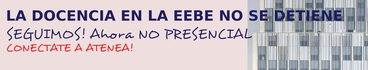 La docencia en la EEBE no se para
